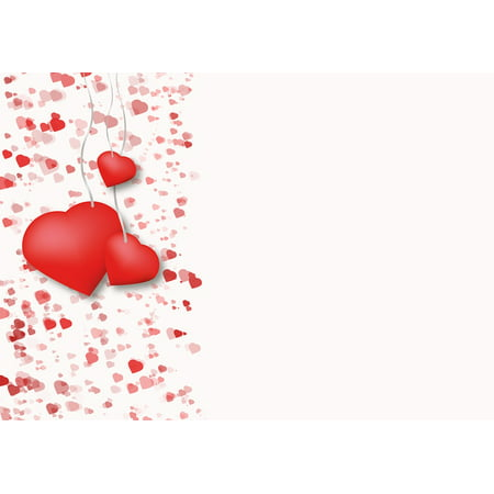 LAMINATED POSTER Romance Drawing Love Map Valentine Heart Poster 24x16 Adhesive Decal