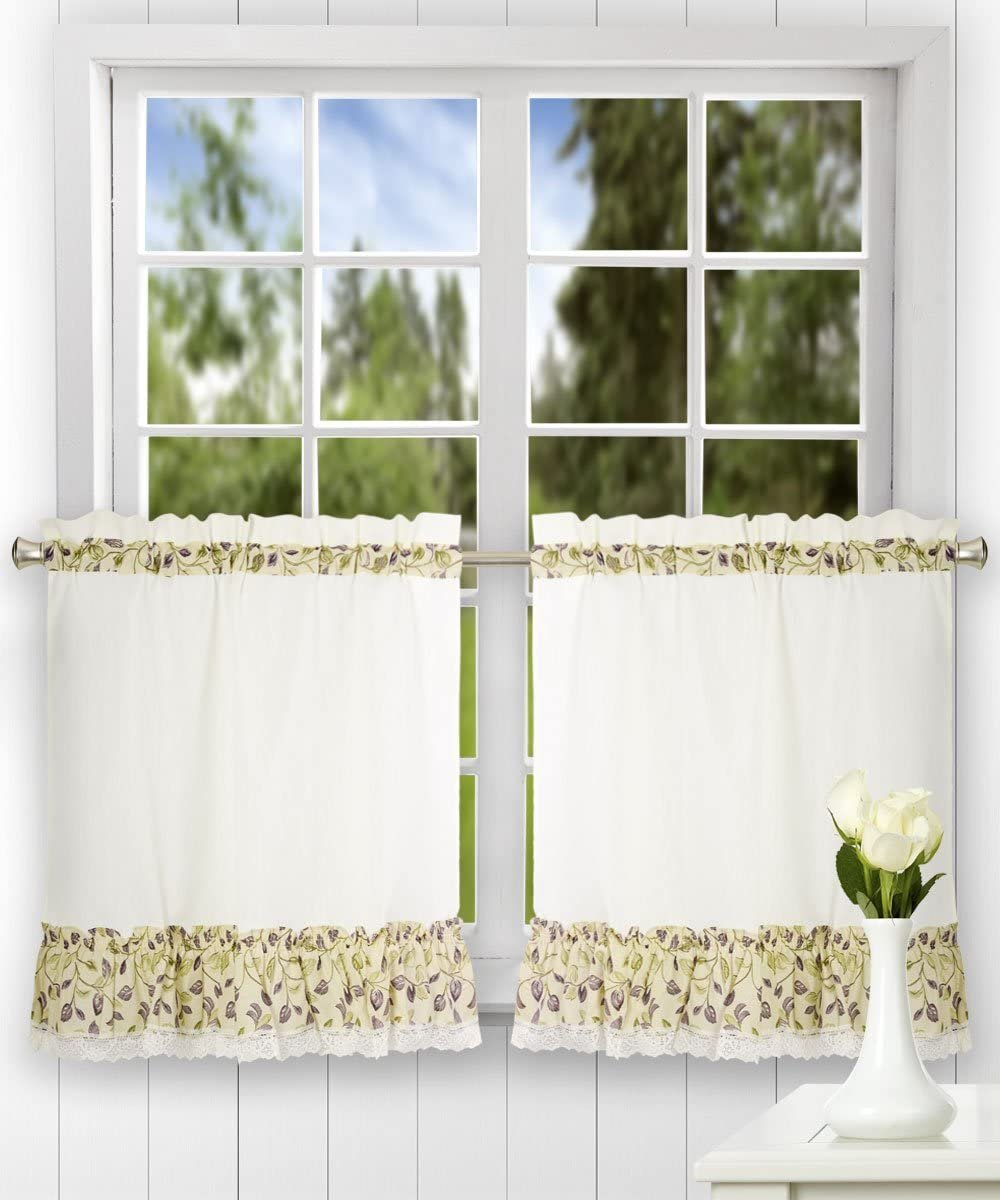 Curtain Clarice 58 By 24 Inch Ruffled
