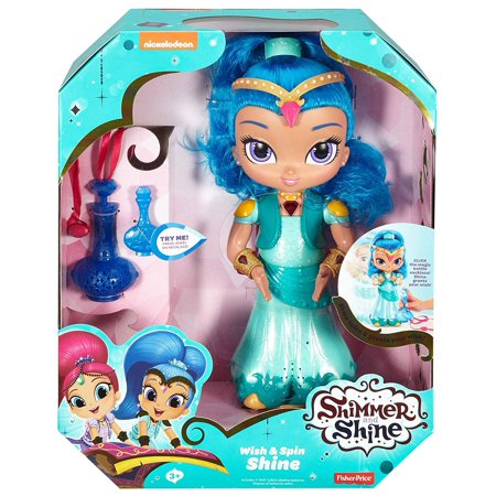 Fisher-Price Nickelodeon Shimmer & Shine, Wish & Spin,