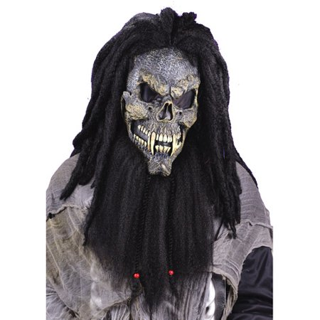 Fearsome Faces Skull Mask Adult Halloween Accessory - Face Skull Halloween