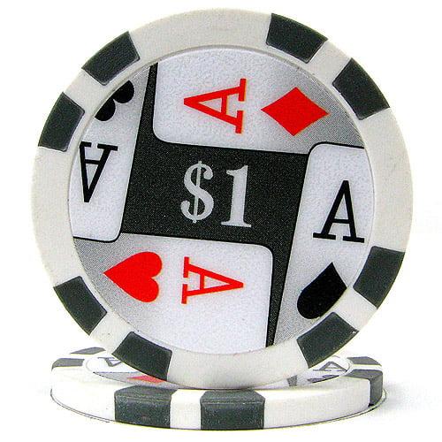 11.5-Gram Premium 4-Aces Poker Chips