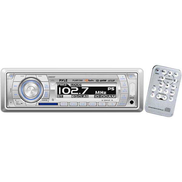 Pyle   Pyle-Pro PLMR19W Pyle Hydra PLMR19W Marine Flash Audio Player 200 W RMS iPod iPhone Compatible Single by Pyle %2F Pyle-Pro
