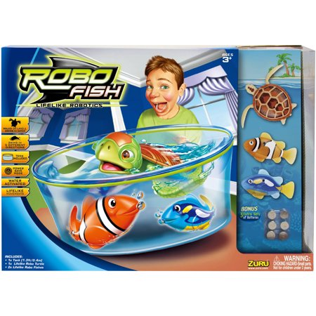 Robo Fish Value Set Boys Walmartcom