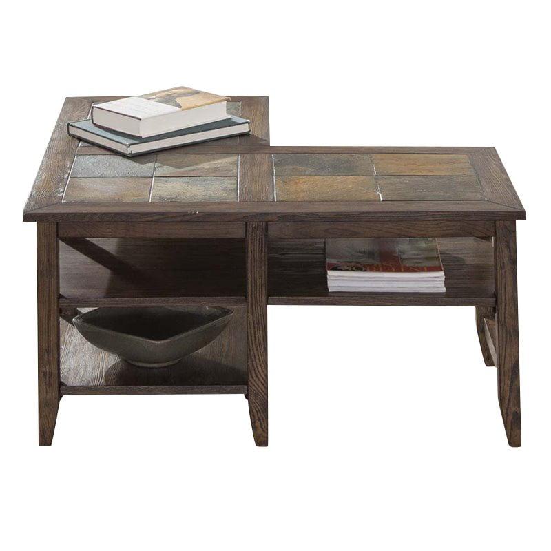 Liberty Furniture Brookstone L Shaped Coffee Table In