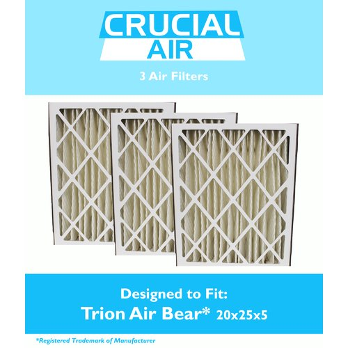 Crucial Trion Bear Air Filter (Set of 3)