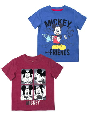 227377953 Product Image Mickey Mouse Short Sleeve T-Shirt, 2pk (Toddler Boys)