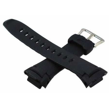 Casio 10141364 Genuine Factory Black G Shock Replacement Band - GW500, GW530 (Casio Sports Watch Straps)