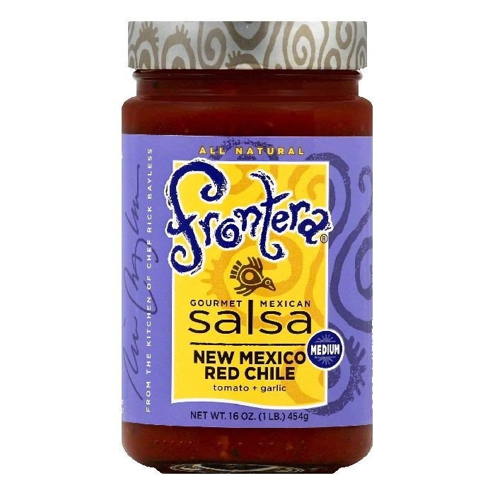 Frontera Gourmet Mexican Salsa New Mexico Red Chile, 16.0 OZ