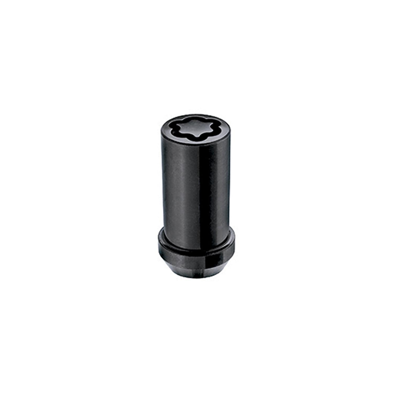 McGard 25112 Chrome//Black Set of 4 M14 x 1.5 Thread Size Tuner Style Cone Seat Wheel Lock