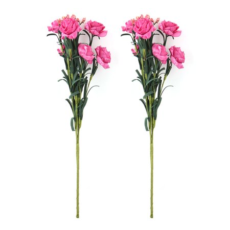 Red Flower Photo - Bride Wedding Foam Artificial Rose Flower Photo Prop Handheld Bouquet Red 2pcs