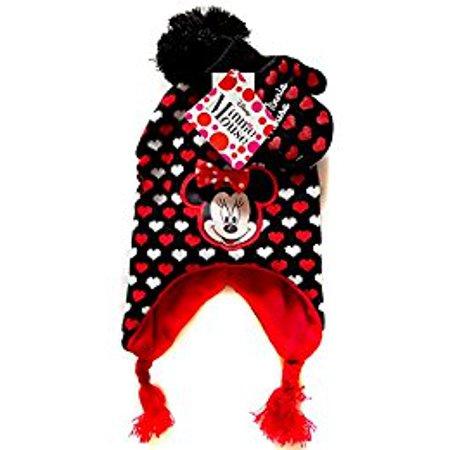 Disney Minnie Girls? Scandinavian Hat and Mitten Set ? size Toddler 2 ? - Disney Woody Hat