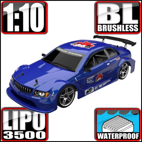 REDCAT LIGHTNINGEPPRO-BL10315 Lightning EPX PRO 1/10 Scale Brushless On Road Car