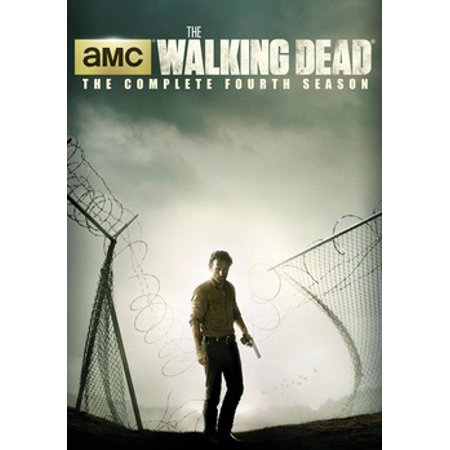 The Walking Dead: The Complete Fourth Season Walmart Exclusive (DVD + Prison