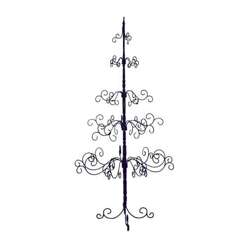 Patch Magic 7' Black Artificial Christmas Tree