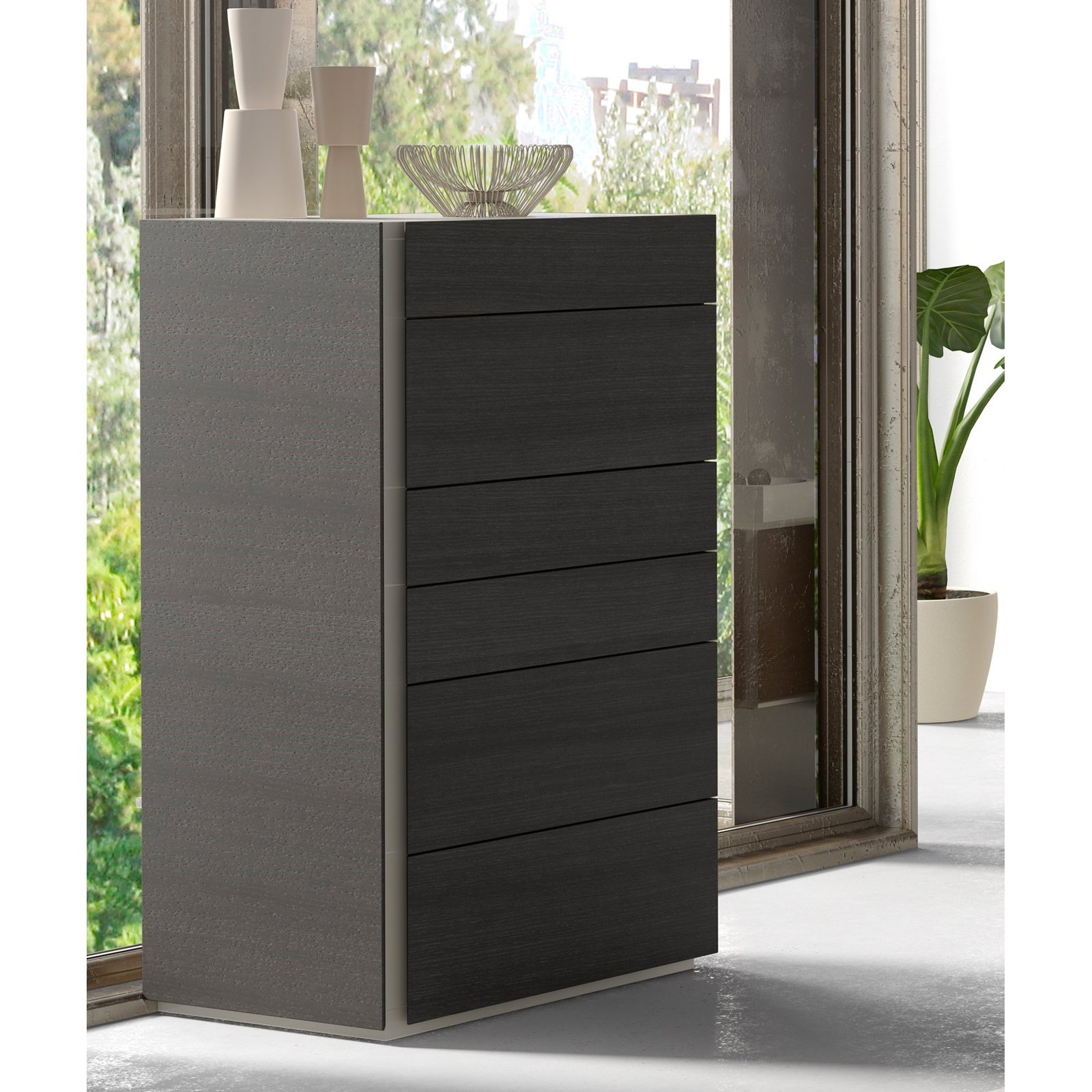 J&M Furniture Faro 6 Drawer Chest