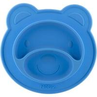 Nuby Bear Silicone Feeding Mat