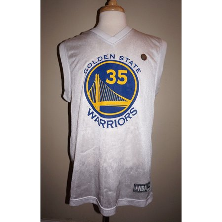 Kevin Durant #35 Golden State Warriors NBA Men's Mesh Jersey (Kevin Durant Party Supplies)