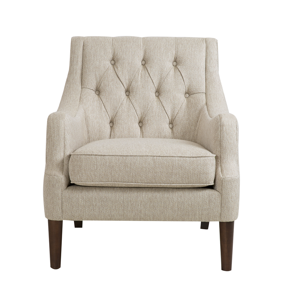 sc 1 st  Walmart & Button Tufted Chair Qwen/Grey - Walmart.com
