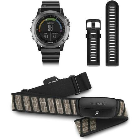 Garmin fenix 3 Multisport Training GPS Watch - Sapphire Performance