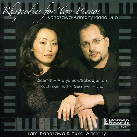 Duos Two Pianos (Kanazawa-Admony Piano Duo - Rhapsodies for Two Pianos)