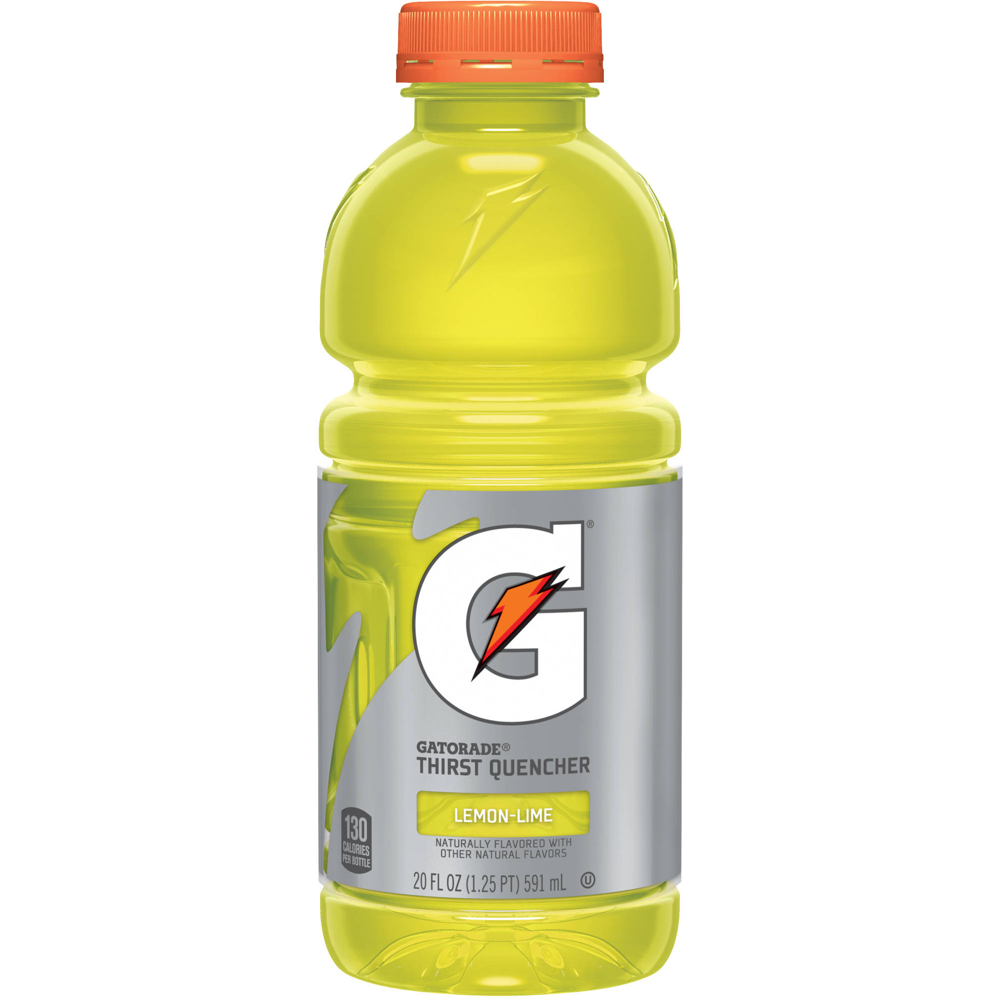 Gatorade G Lemon-Lime Thirst Quencher Sports Drink, 20 fl oz bottles