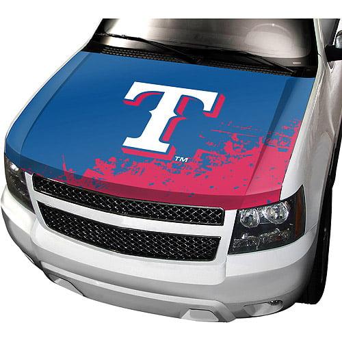 Texas Rangers Auto Hood Cover