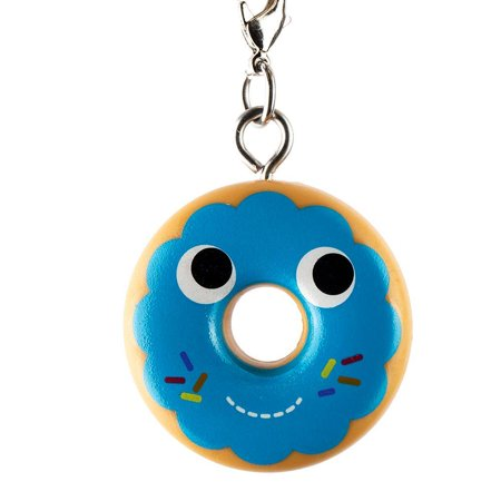 Kidrobot Yummy World Attack of the Donuts Keychain Series - Blue Frosted (2/24)