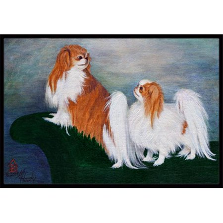 Carolines Treasures MH1059JMAT Japanese Chin Standing On My Tail Indoor & Outdoor Mat, 24 x 36 in. - image 1 of 1