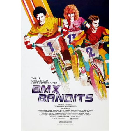 Bmx Bandits Poster Nicole Kidman 24Inx36in