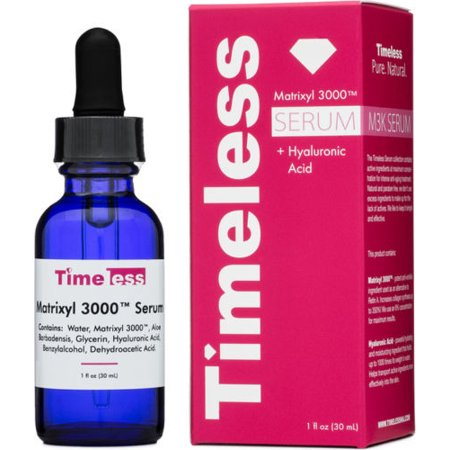 TIMELESS SKIN CARE Acide Hyaluronique Sérum + Matrixyl 3000 sérum 30ml / 1 oz