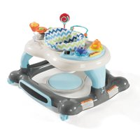 Storkcraft 4-in-1 Activity Center Walker and Rocker with Jumping Board and Feeding Tray