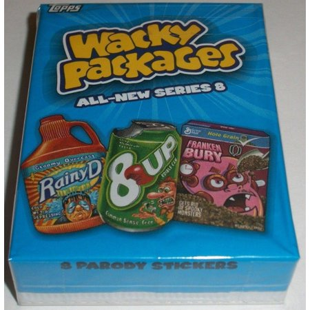 2011 Wacky Packages All New Series 8 Complete 55 Sticker Set