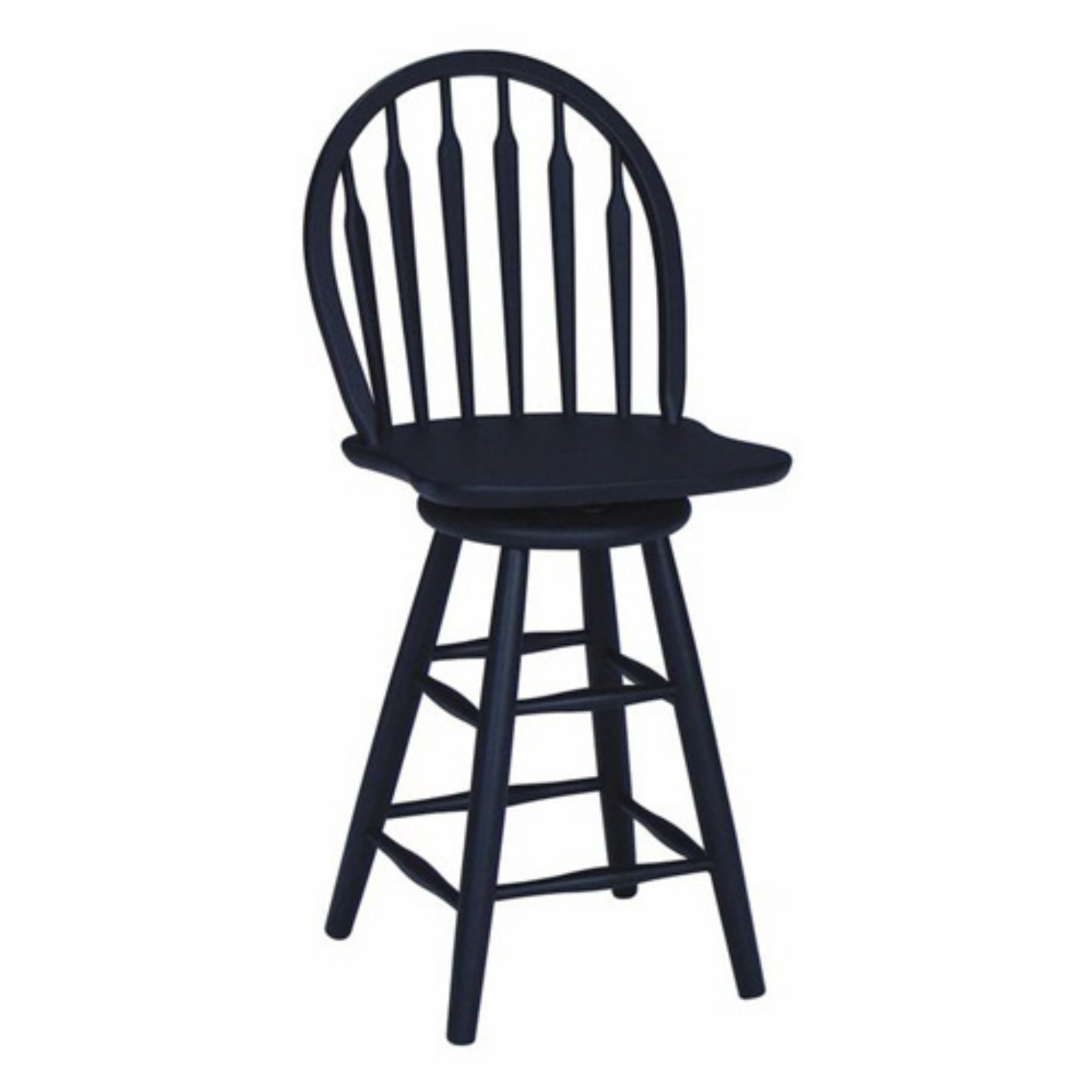 International Concepts Algood Windsor Arrow Back Swivel Counter Stool