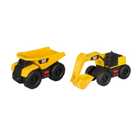 Caterpillar Mini Mover lights and Sounds 2 pack Dump Truck and