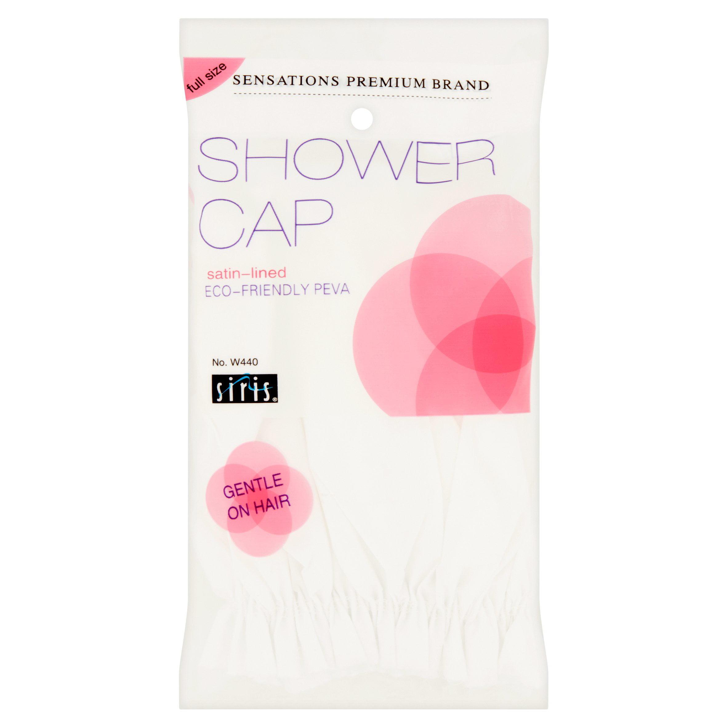 Siris Sensations Premium Brand Full Size Satin-Lined Shower Cap W440