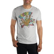 Scooby Doo Zoinks Specialty Soft Hand Print T-Shirt For Men-3X-Large