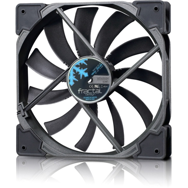 Fractal Design Venturi HF-14 Cooling Fan - 1 x 140 mm - 1200 rpm