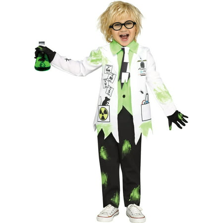 Mad Scientist Boys Toddler Crazy Doctor Halloween - Mad Scientist Halloween Party Food