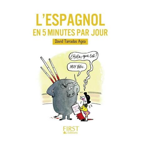 Petit Livre De L Espagnol En 5 Minutes Par Jour Ebook Walmart Com