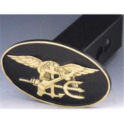 Mayer Mill Brass HTC-NS Navy Seal Trailer Hitch Cover