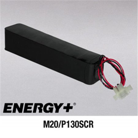 Fedco Batteries Compatible With  Energy M20 P130scr Recloser Battery For Cooper Form 3 Form 3A Recloser