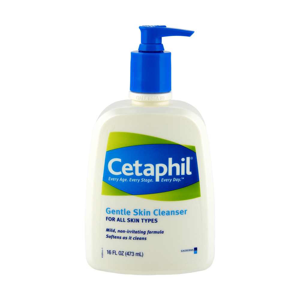 Cetaphil Gentle Skin Cleanser, 16.0 FL OZ - Walmart.com