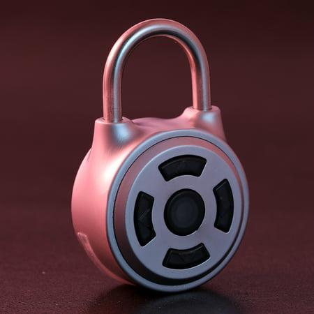 Intelligence Keyless BT Lock APP Button Password Unlock Anti-Theft Padlock Door Luggage Case Locker Lock for Android IOS System - image 3 de 7