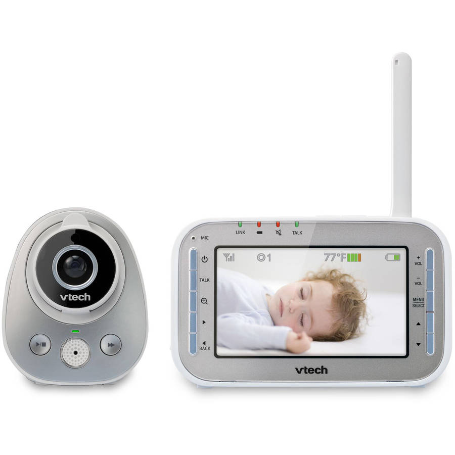 VTech VM342, Video Baby Monitor, Automatic Night Vision, Expandable