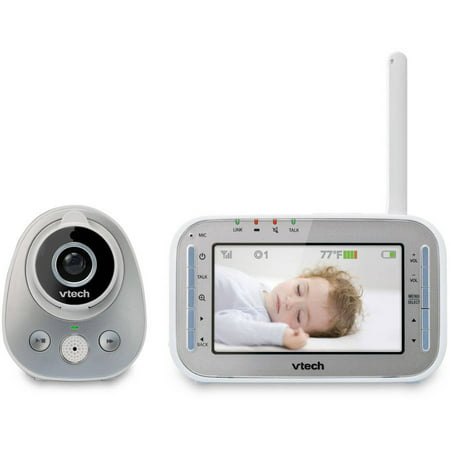 Vtech Wide Angle Digital Video Baby Monitor Bundle With 1