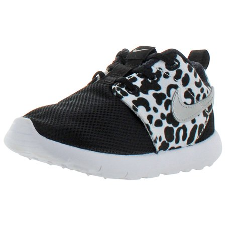 Nike Roshe One Toddler Girls Leopard Shoes Sneakers