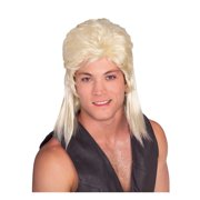 Mullet Wig - Blonde - Adult Costume Accessory