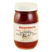 Byler's Relish House Homemade Amish Country Strawberry Jam Fruit Spread 16 oz.