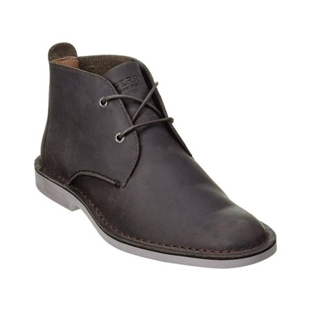 Sperry Mens Oxford - Sperry Top-Sider Harbor Oxford Chukka Mens Grey Boots