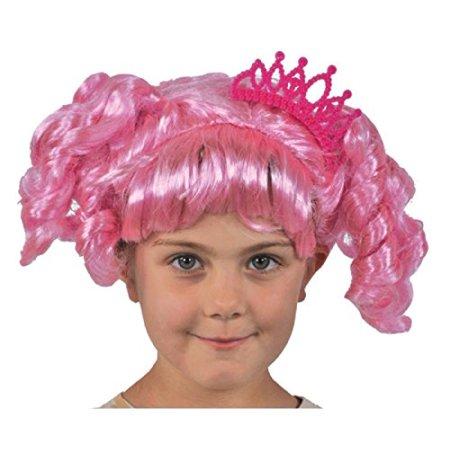 Twilight Sparkle Wig (Pink Lalaloopsy Jewel Sparkles Wig Child Halloween Costume, One Size,)
